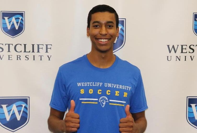 Men's soccer player Michael Davis to join Westcliff program
