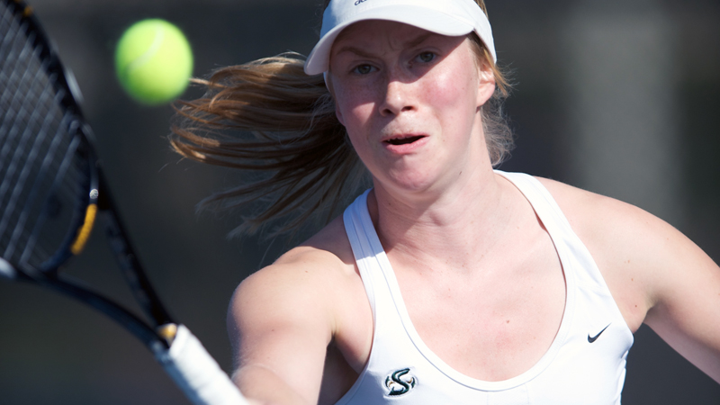 WOMEN'S TENNIS FALLS TO RIVAL UC DAVIS