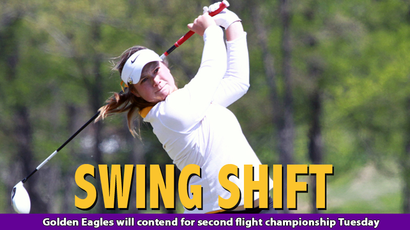 Golden Eagles open final round play just 11 shots off pace in second flight
