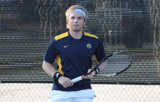 Cobras Conquer the Trojans in Men's Tennis, 6-3