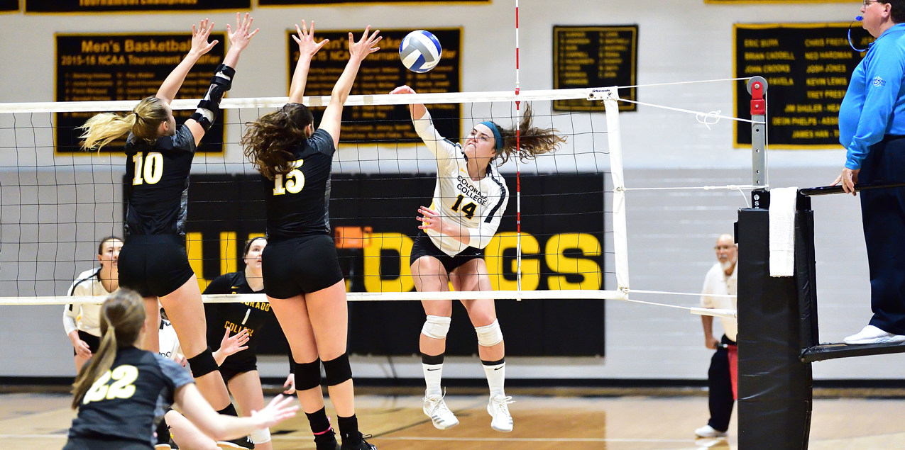Colorado College Advances to Third Straight SCAC Volleyball Title Match