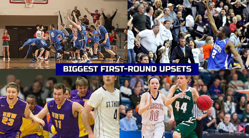 Biggest first-round upsets
