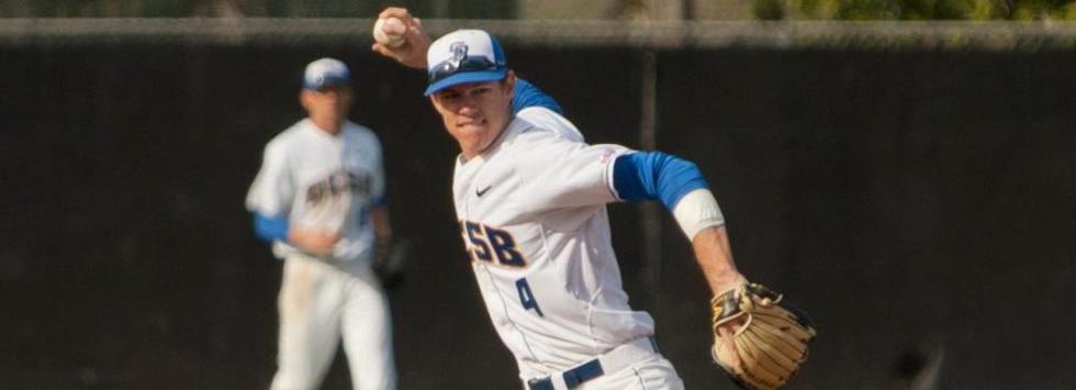 Gauchos Use Good Pitching, CSUN Errors to Win 11-1 Laugher