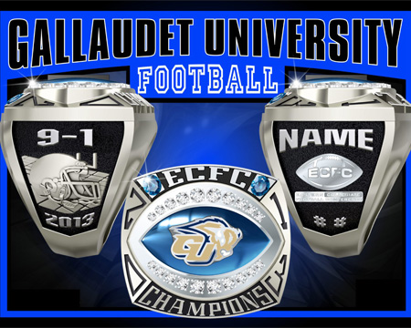 Gallaudet football begins campaign to raise funds for rings and banquet