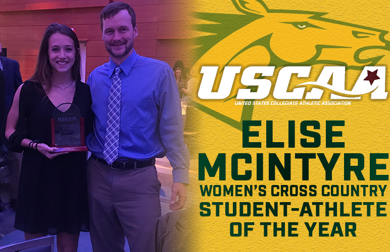 Elise McIntyre Honored as USCAA Co-Student-Athlete of the Year