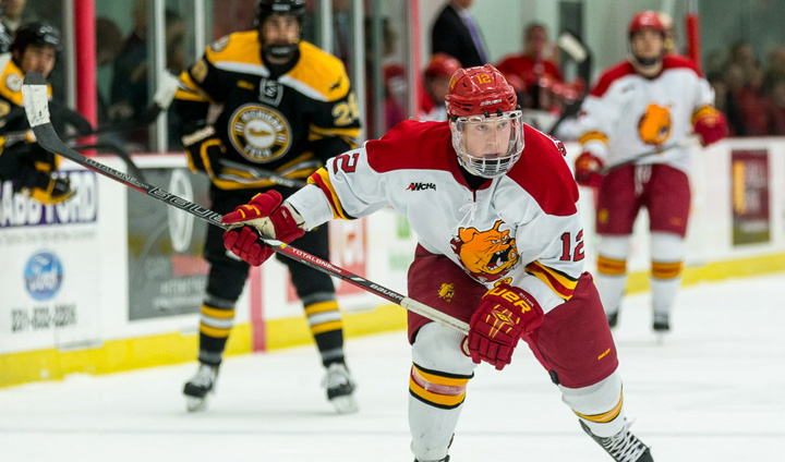 Ferris State Hockey Completes Weekend Home Sweep Before Sellout Crowds
