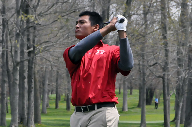 Golf: Panthers 13th after first round of Division III Men's Golf Championships