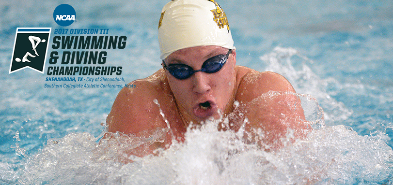 Thompson Competes at NCAA Division III Swimming and Diving Championships for Second Straight Year