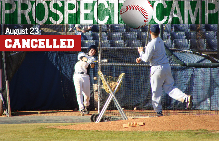 High School Prospect Baseball Camp Cancelled