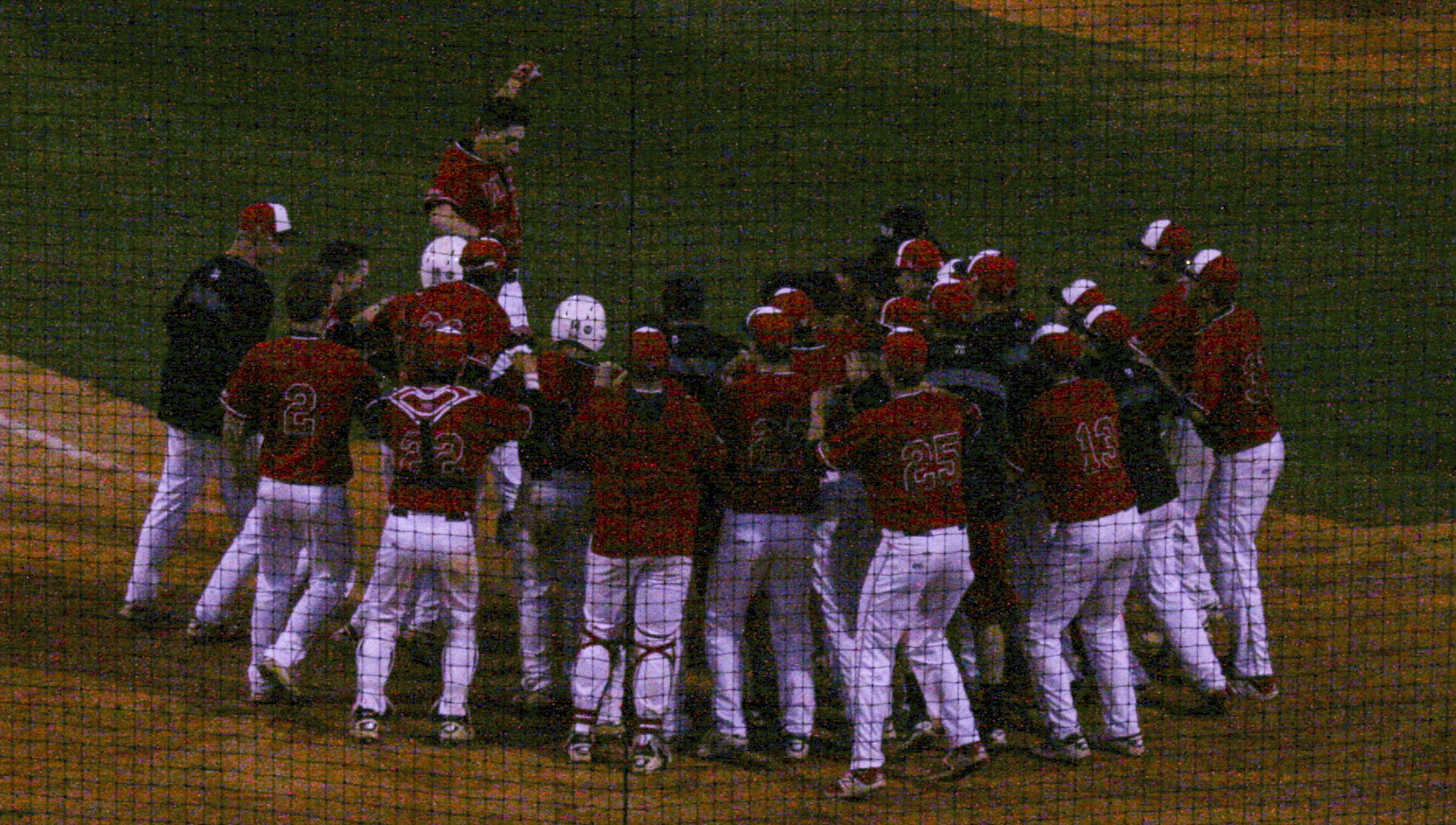 Kyle Benyo hit a walk-off home run vs. Bowling Green on April 19, 2017