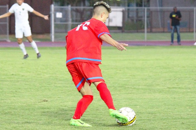 Garcia Nets Mesa's Two Goals in 2-1 Road Victory at Paradise Valley