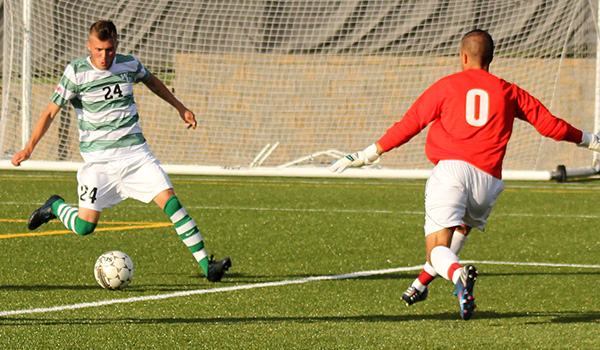 Second Half Surge gives Wilmington Men's Soccer 2-1 Victory over 17th Ranked Shippensburg University