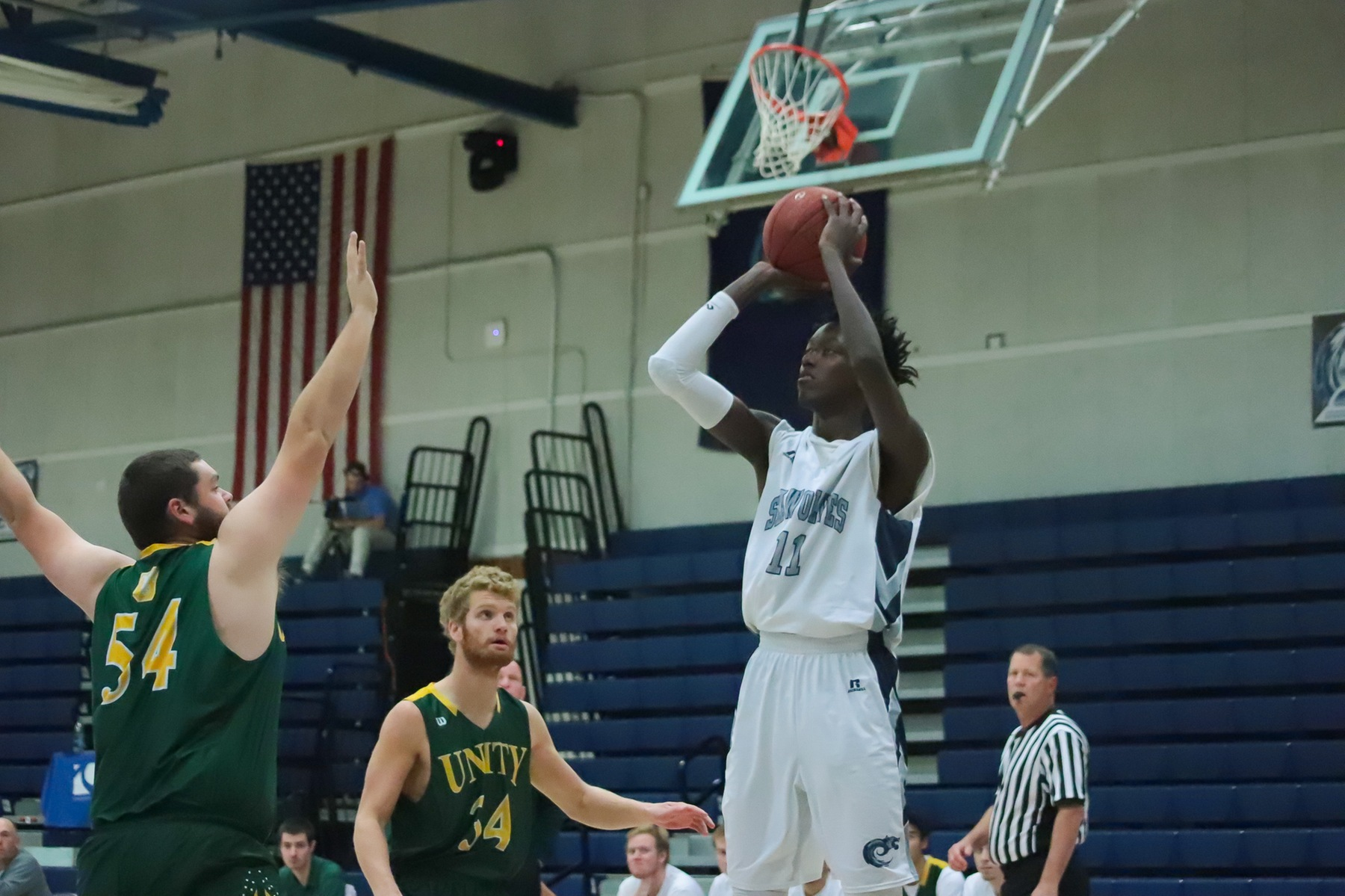 SeaWolves Dominate At Home With 28-Point Win