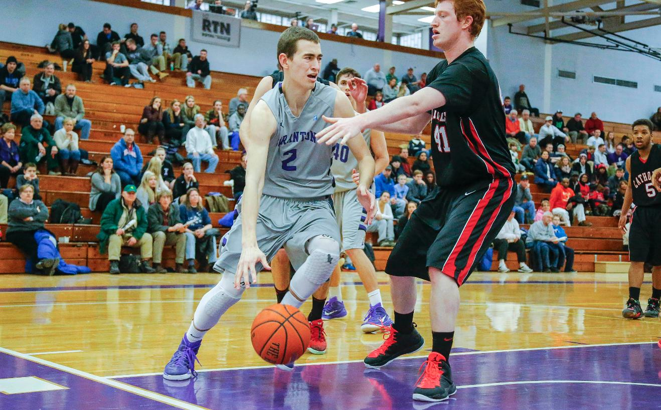 Freshman guard Ethan Danzig has been named The University of Scranton Athlete of the Week.