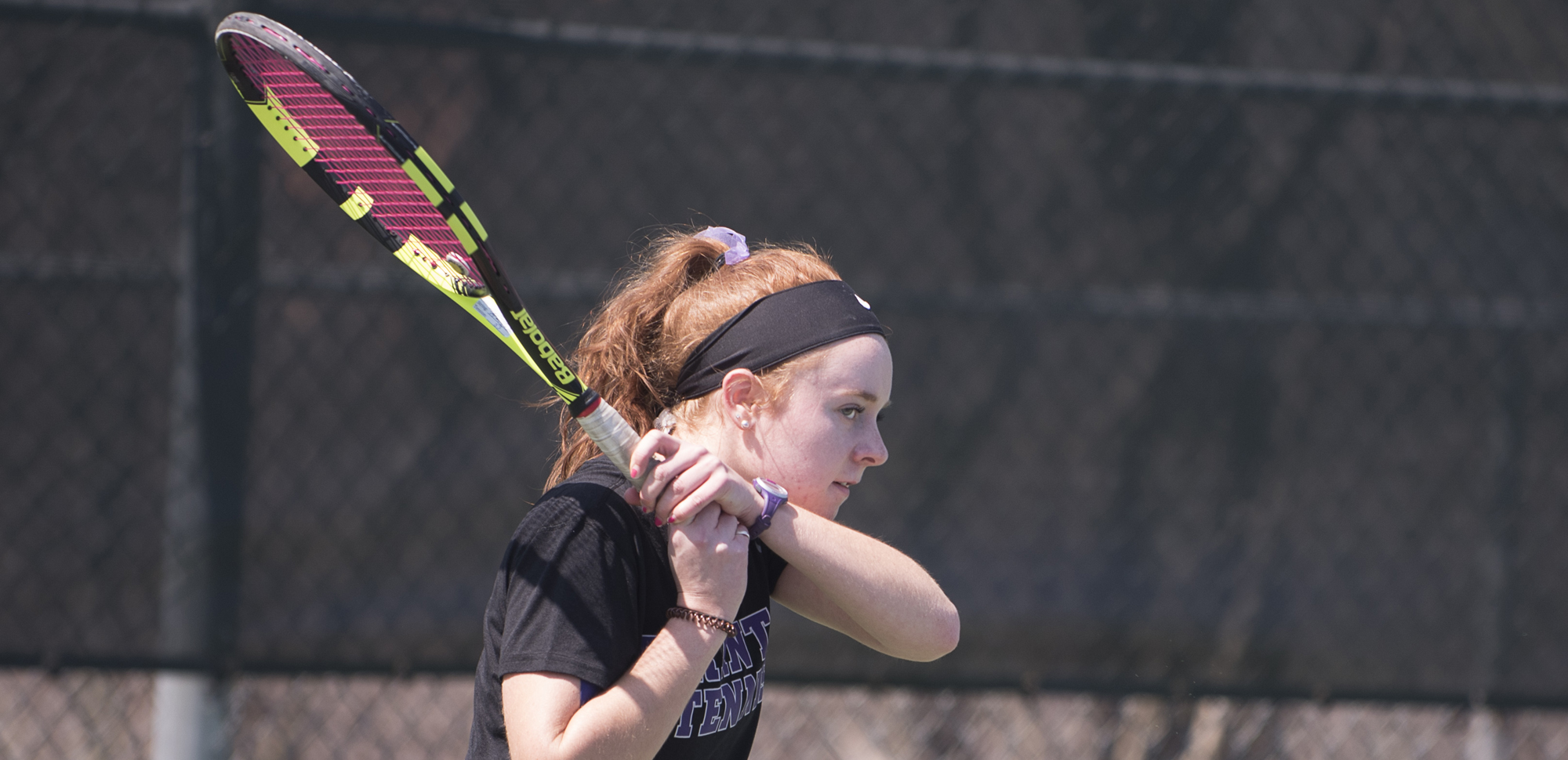 Junior Emily Kelly had wins in singles and doubles to help the Royals defeat East Stroudsburg on Saturday.