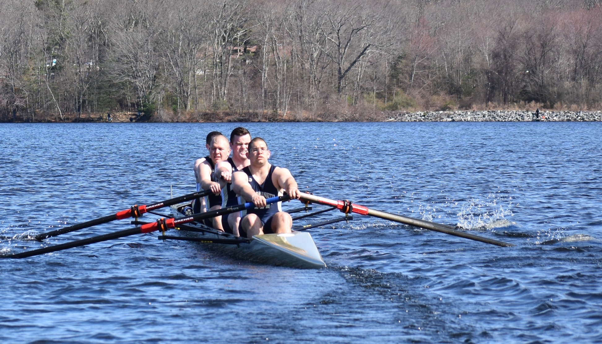 Crew Men's Varsity Fours Win; Women Take Home a Pair of Third Place Finishes