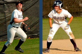 Specker, Grimm named to the Academic All-District softball team