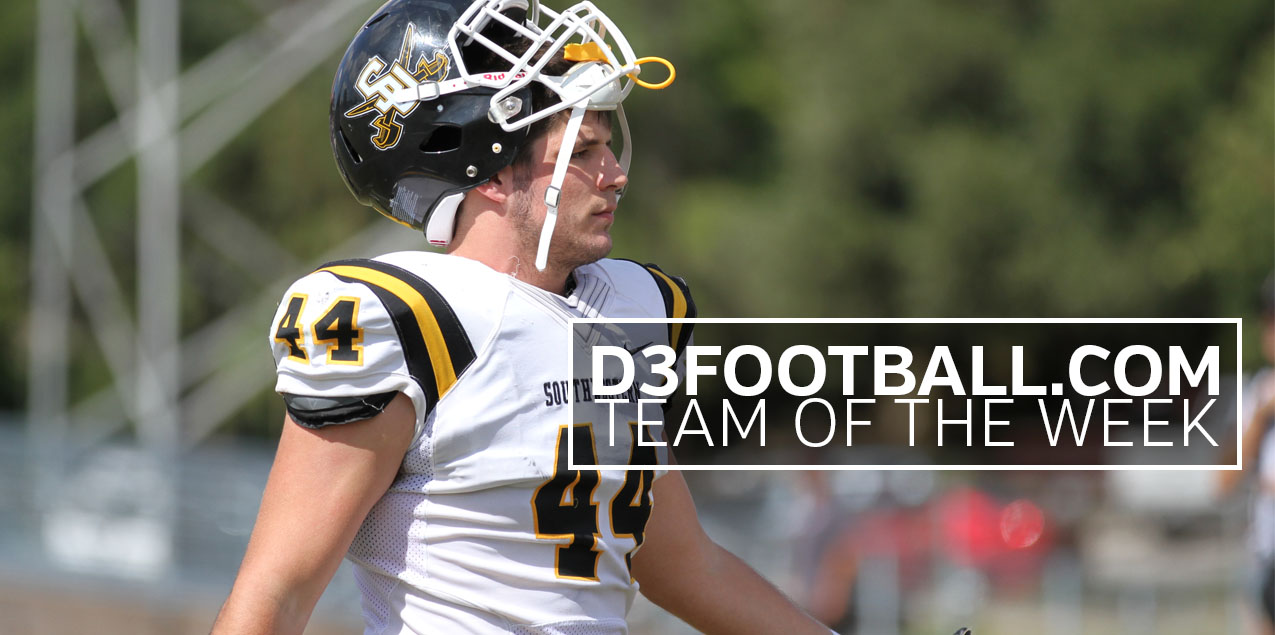Southwestern's Fleischmann Earns D3football.com Team of the Week Recognition