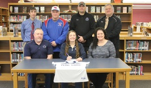 Kayleigh MacTavish, has decided to continue her academic and athletic softball career at Penn State DuBois