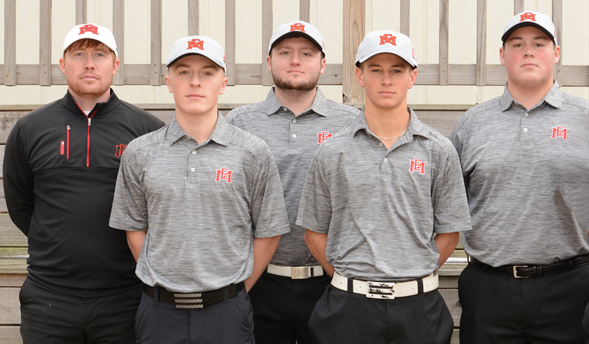 EMCC's golf season concludes with fifth-place district tournament finish at Lion Hills