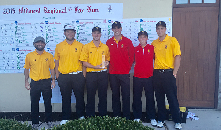 Ferris State Men's Golf Wins Second-Straight Fall Regional Tourney