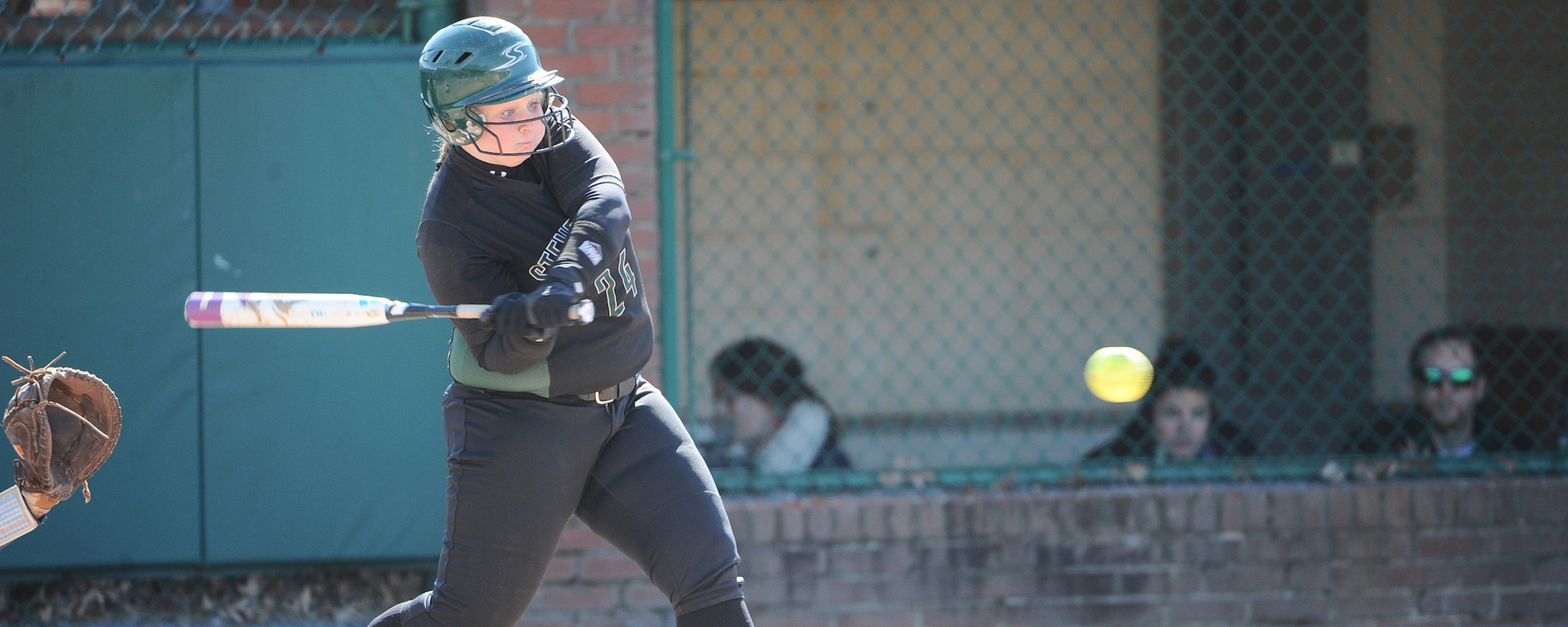 Finnen Records 100th Career Hit as Mustangs Cruise to a Pair of Wins