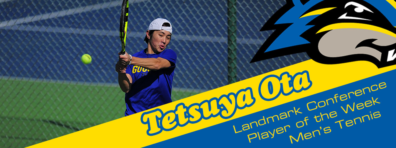 Ota Nabs Landmark Conference Men's Tennis Player Of The Week Recognition