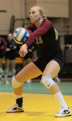 Volleyball's Kelley named Tournament Most Valuable Player