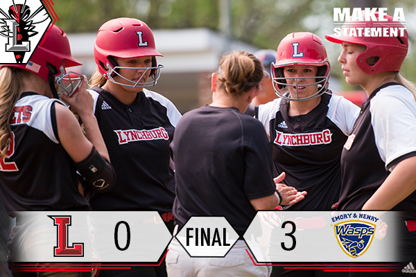 Softball Eliminated from the ODAC Tourney vs. Emory & Henry 3-0