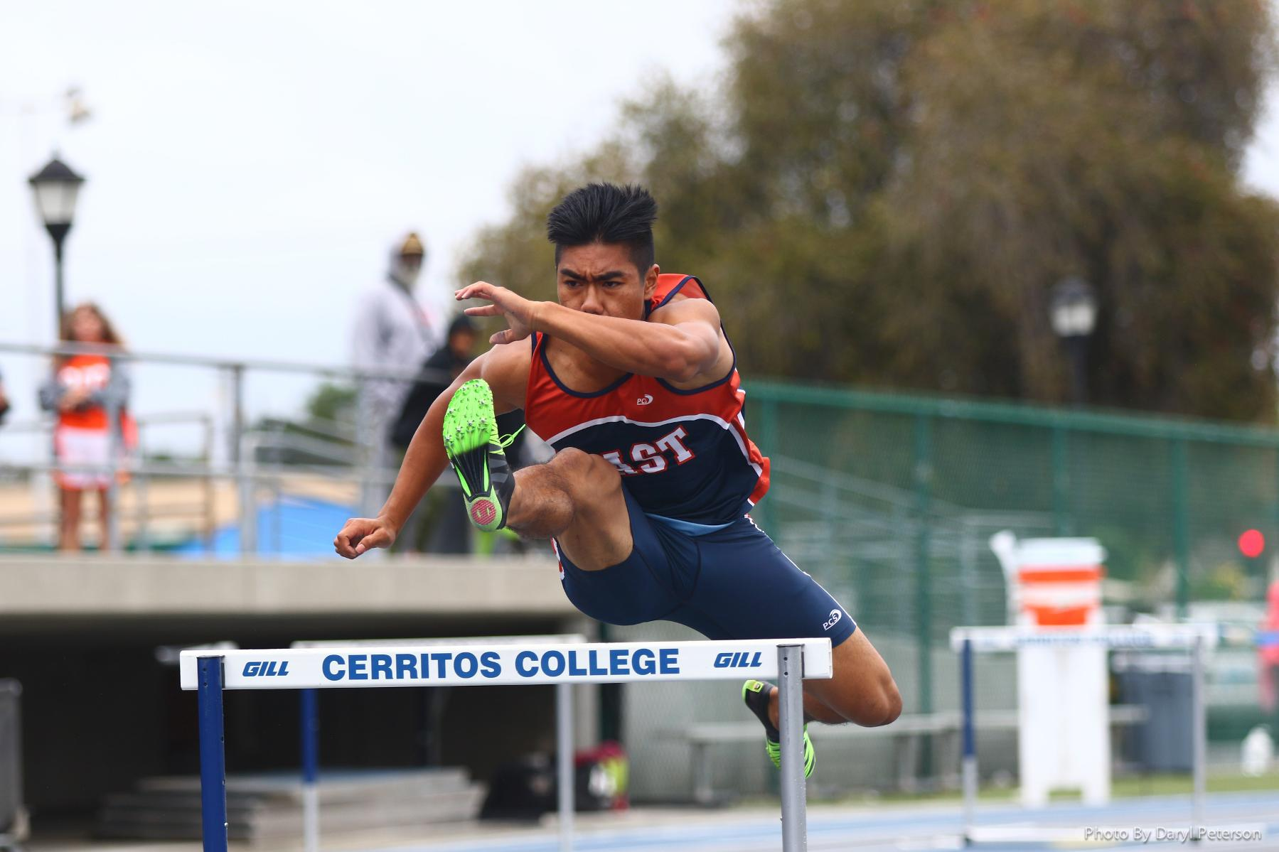 Pirates finish second at OEC Track Championships