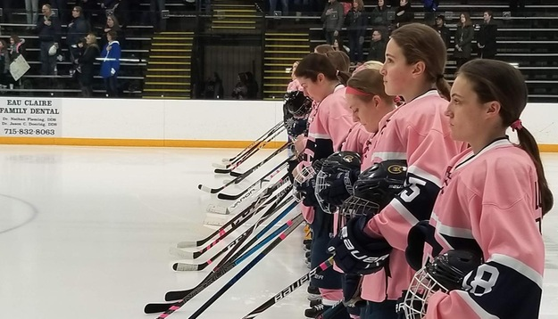 Women's Hockey dominates Pointers in 9-1 win