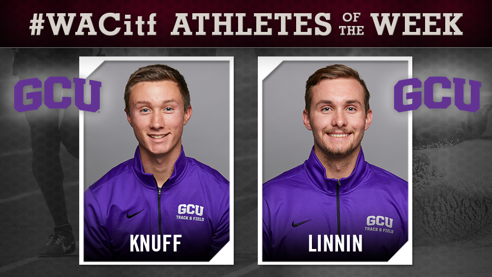 WAC Men's Indoor Track & Field Athletes of the Week Announced