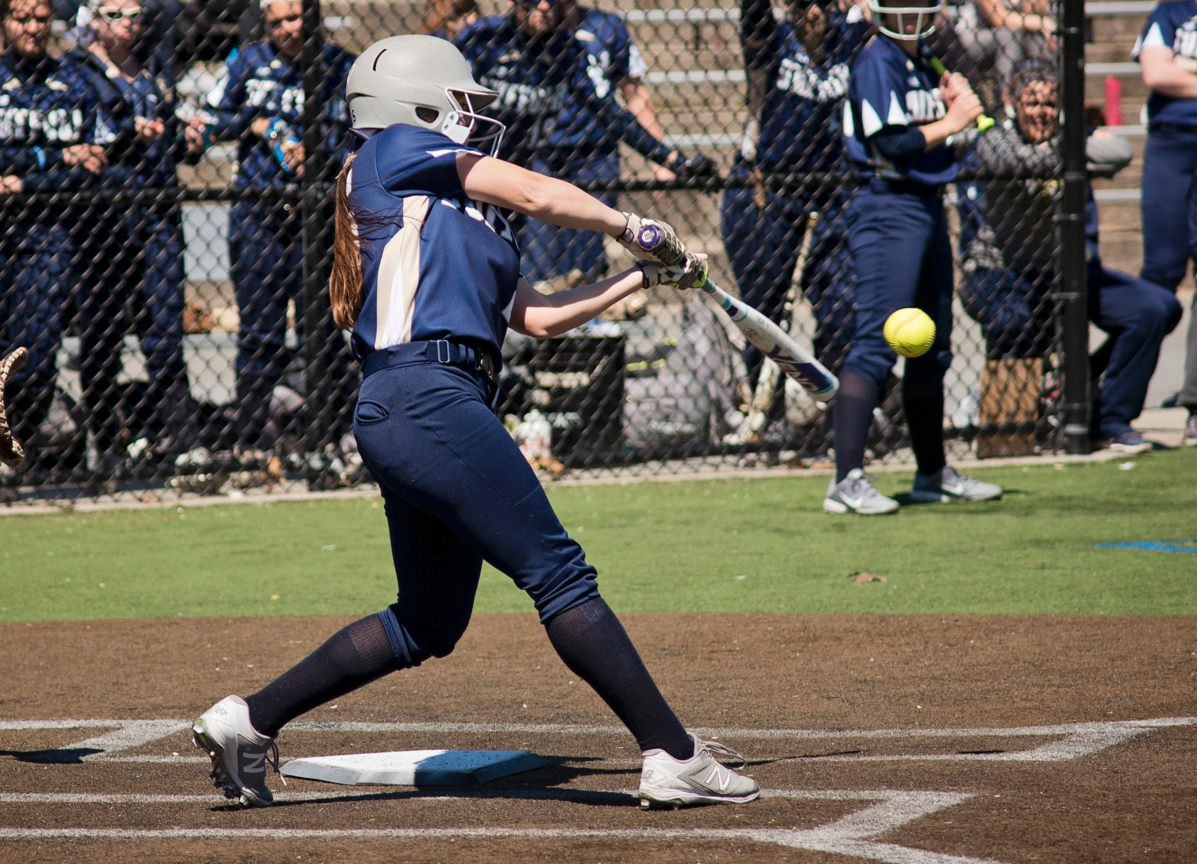 Johnson & Wales Quiets Softball, 6-0, in GNAC Semis