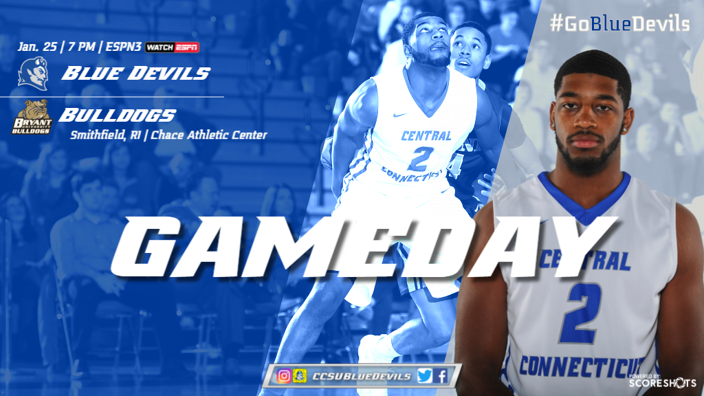 Men's Basketball Hosts Bryant at Detrick Gym for Community Day Saturday