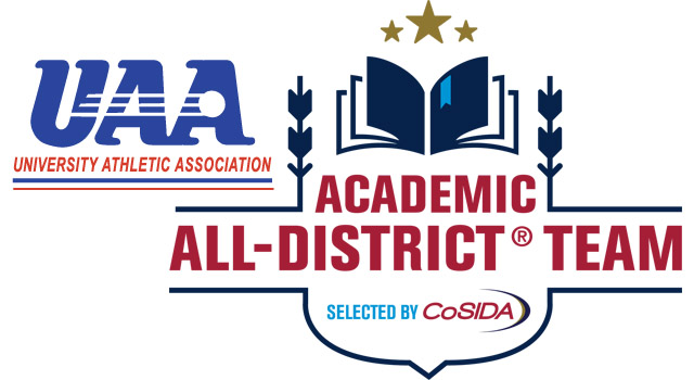 36 UAA Student-Athletes Earn CoSIDA Academic All-District Honors in Four Fall Sports