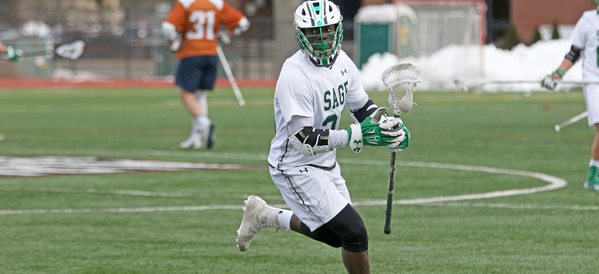 Sage puts a wrap on inaugural men's lacrosse campaign