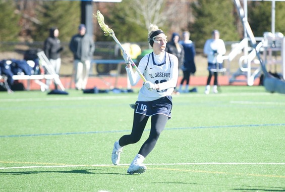 Women's Lacrosse Holds Off Old Westbury In Conference Showdown