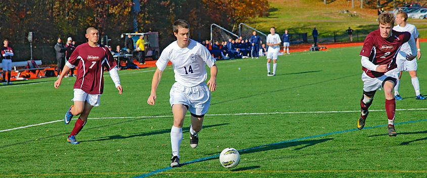 Luke Teece '12 (photo by Mike Lovett)