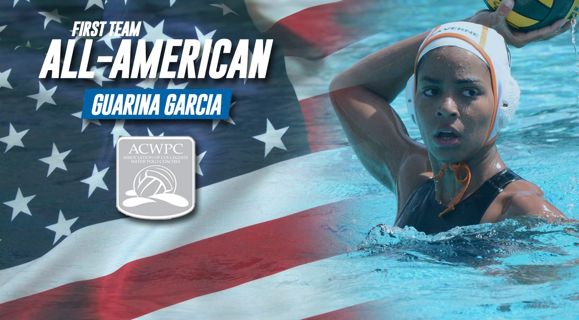 Garcia named ACWPC First Team All-American