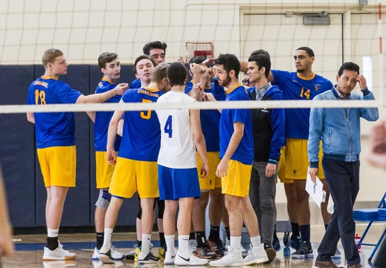 MEN'S VOLLEYBALL DROPS TWO IN SEASON-OPENER