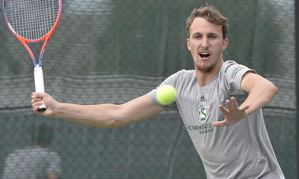 MEN'S TENNIS CONCLUDES GOLDEN STATE INVITE WITH 4-2 LOSS TO NEVADA