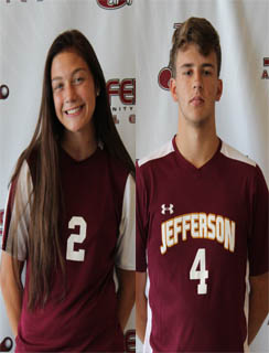 Graicee Renne and Ryan Weaver Co-Athletes of the Week