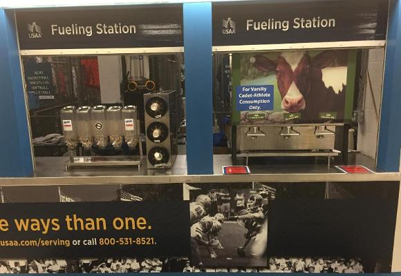 USAA Fueling Station A New Feature for Cadet-Athletes