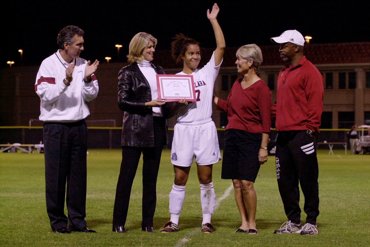 Former SCU And U.S. Soccer Women's National Team Player  Danielle Slaton Heads To Paraguay As Department Of State Sports Envoy Program Continues