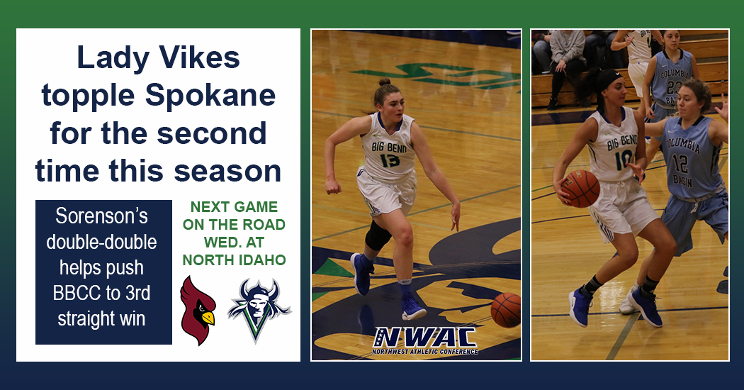 Lady Vikes hang on for NWAC East Region win over Spokane, 65-62