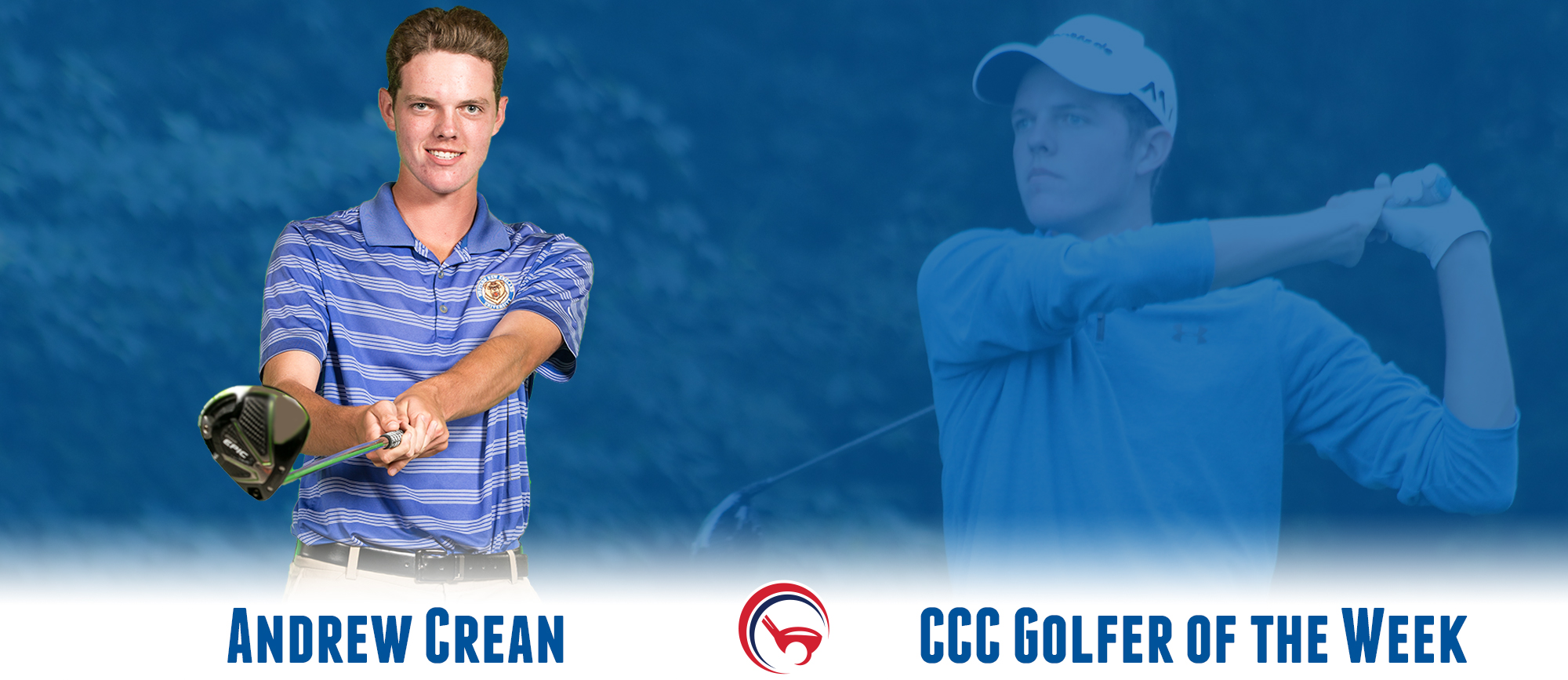 Andrew Crean Named CCC Golfer of the Week