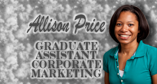 Marketing department adds Allison Price as graduate assistant
