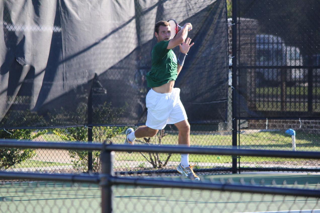 No. 4-Seed Men's Tennis Moves to Third Place Match After Falling to No. 1-Seed Armstrong, 5-0
