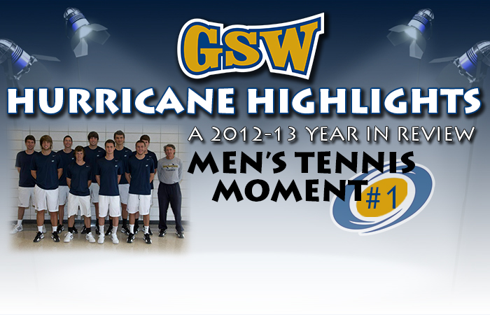 GSW Men's Tennis Hurricane Highlight #1: Historic Sweep of ABAC