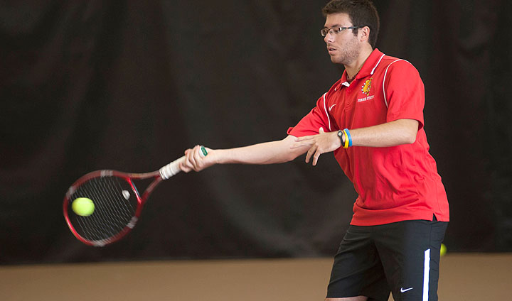 Ferris State Men's Tennis Tops West Michigan Rival GVSU In Home Finale
